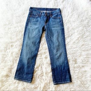 Citizens of Humanity Kelly Crop Low Rise Jeans
